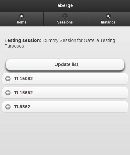 test instances
