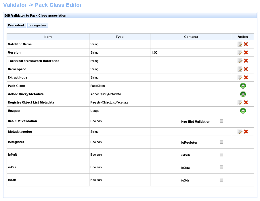 XDS Metadata validation | Gazelle