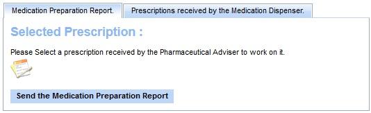 medication dispenser main page