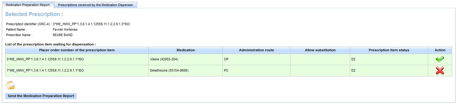 medication order
